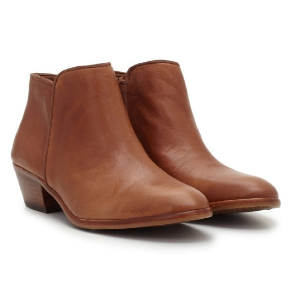 a962047bf Sam Edelman Petty Ankle Bootie in Deep Saddle